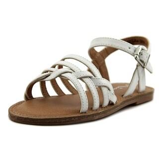Nina Kids Jacklin Open Toe Leather Sandals