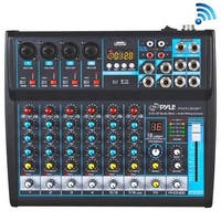Pyle PMXU83BT 8 Channel Bluetooth Studio Mixer