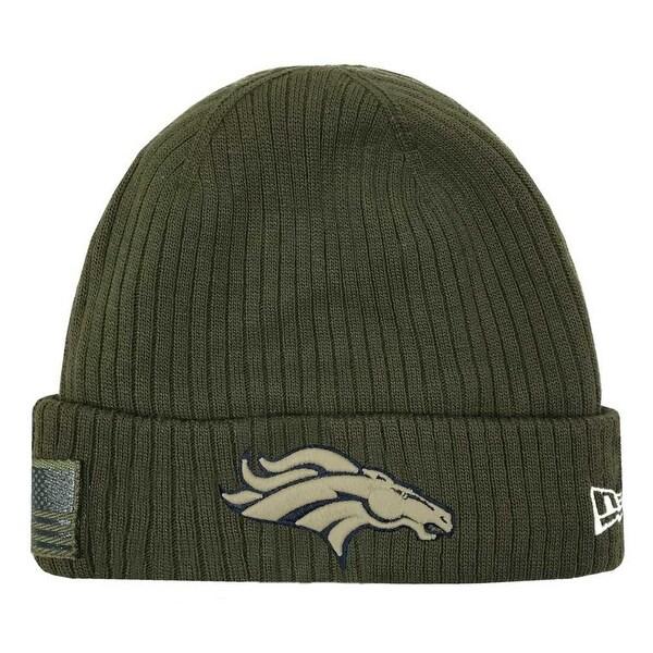 Broncos Stocking Hat: Shop New Era 2018 NFL Denver Broncos Salute To Service