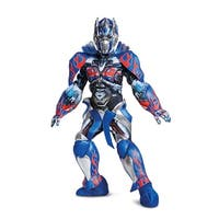 Boys Prestige Optimus Prime Transformers Costume