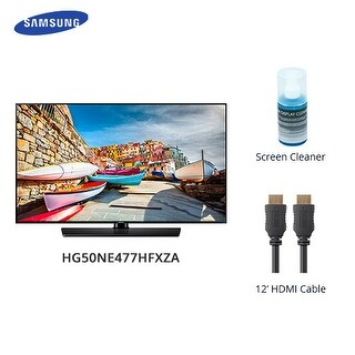 Samsung 50 Inch Slim Direct-lit LED with Cable And Cleaner 50 Inch Slim Direct-lit LED