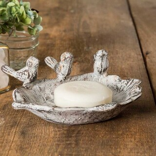 Three Singing Birds Soap Dish -2Pack
