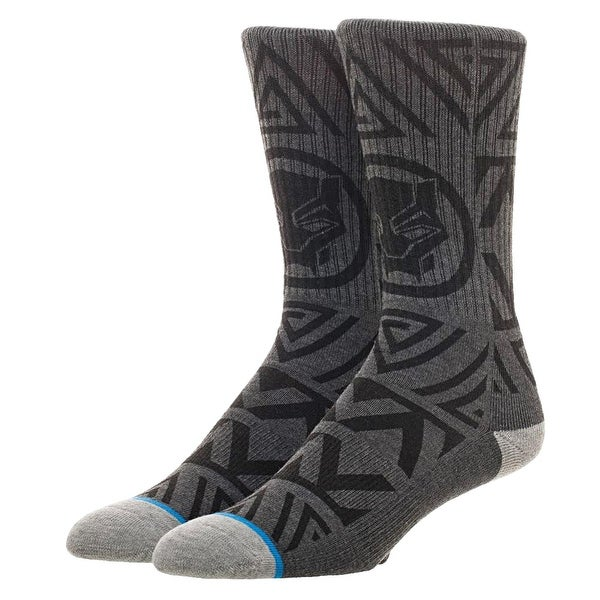 Black Panther Waterprint Men's Crew Socks