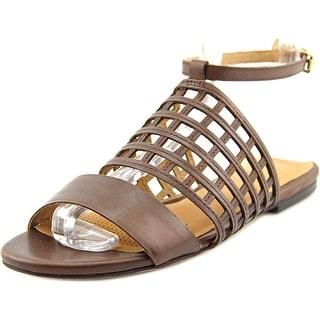 Corso Como Summa Women Open-Toe Leather Slingback Sandal