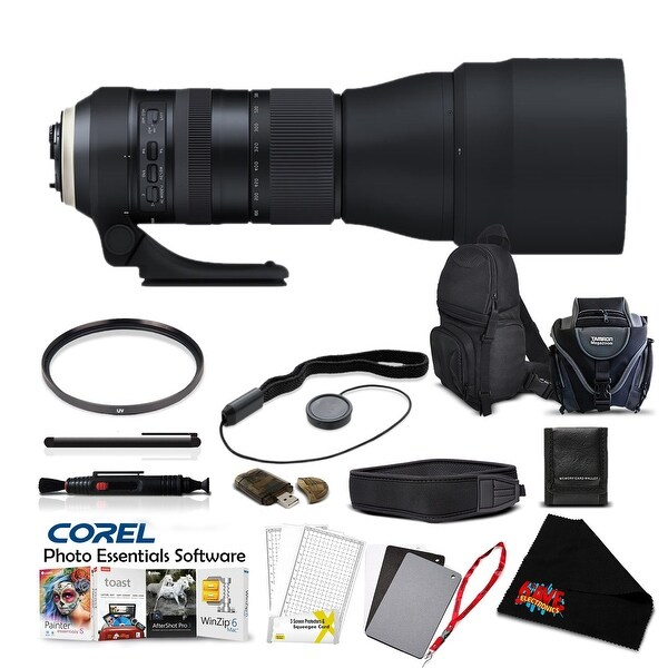 Tamron SP 150-600mm f/5-6.3 Di VC USD G2 for NIKON Pro Accessory Kit - black