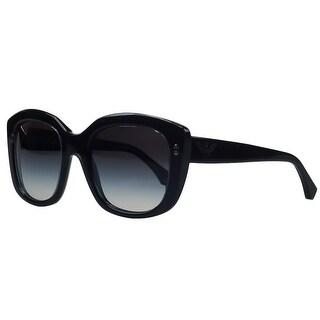 Emporio Armani EA4031 522/08G Black Square Sunglasses