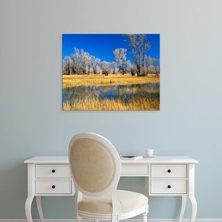 Easy Art Prints Scott T. Smith's 'Wyoming Bear River' Premium Canvas Art