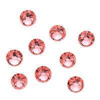 Swarovski Elements Crystal, Round Flatback Rhinestone SS12 3mm, 50 Pieces, Rose Peach F