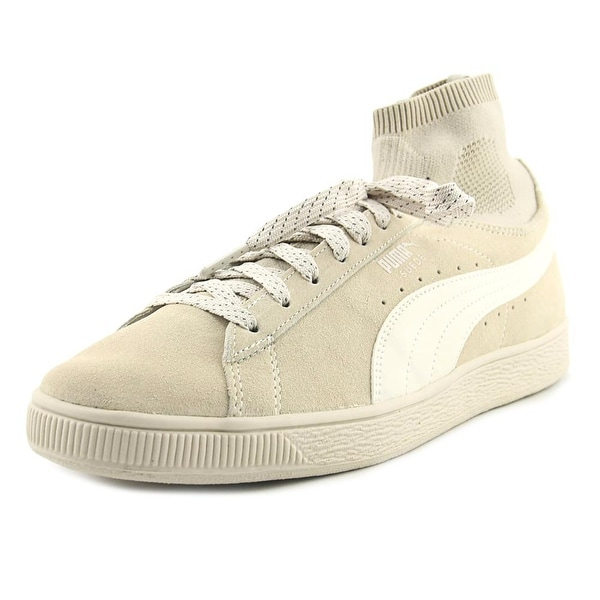 Puma Suede Classic Sock Men Round Toe Suede Tan Sneakers
