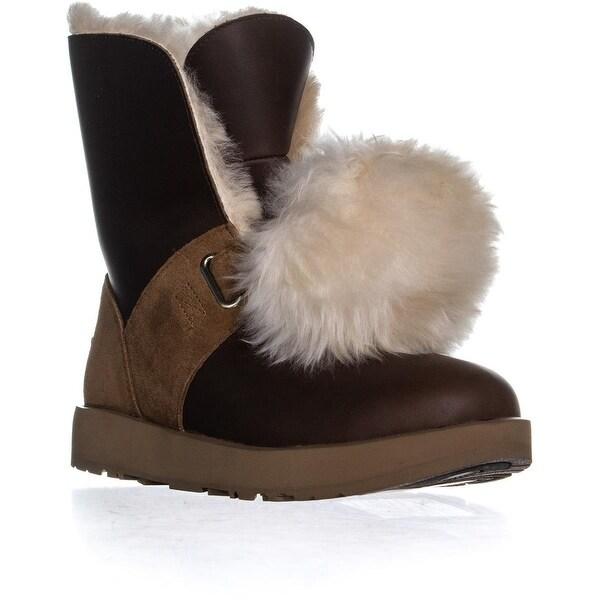 15c8f8eb109 Shop UGG Isley Waterproof Winter Boots, Chestnut - 8.5 us / 39.5 eu ...