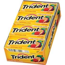 Trident Sugar Free Gum Passionberry Twist 12 pack (18 ct per pack)