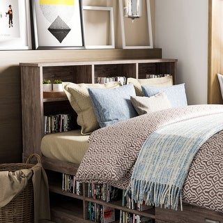 Link to Carbon Loft Jorchid Contemporary Bookcase Headboard Similar Items in Kids' & Toddler Furniture