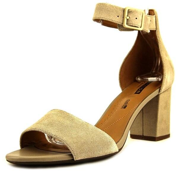 290e44f31f7 Shop Clarks Deva Mae Women Open Toe Suede Nude Sandals - Free ...