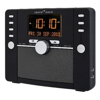 Sound Oasis S-5000 Deluxe Sleep Sound Therapy System, Black [Health and Beauty]