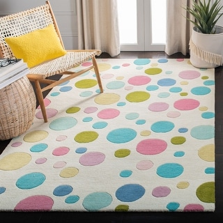 Link to Safavieh Handmade Soho Steina Dots N.Z. Wool Rug Similar Items in Fan Shop