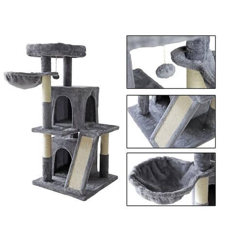 "confote 42"" Cat Tree Activity Tower Luxury Condos"