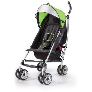 Summer Infant 3D lite Convenience Stroller-Tropical Green Baby Stroller