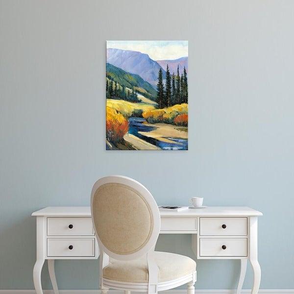 Easy Art Prints Tim OToole's 'Purple Mountain Majesty I' Premium Canvas Art