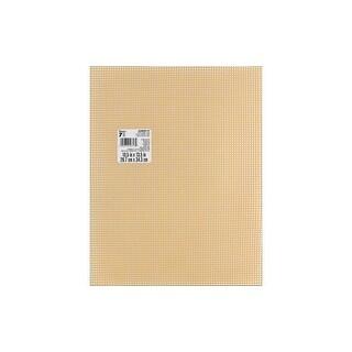 Darice Plastic Canvas #7 Mesh 10.5x13.5 Beige