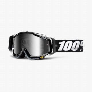 100% Percent - Goggle - Racecraft Abyss Black - Clear Lens - 50100-001-02
