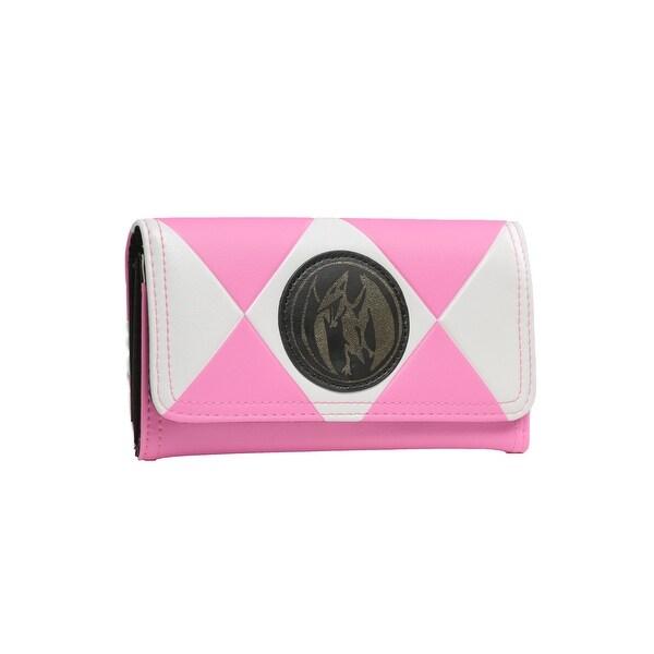 Power Rangers Pink Ranger Trifold Wallet