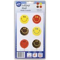 Smiley Face 10 Cavity (1 Design) - Lollipop Mold