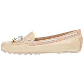 MICHAEL Michael Kors Womens Daisy Moc Leather Closed Toe