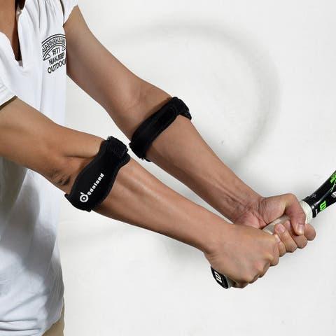ODOLAND 2PCS Tennis Elbow Brace Durable Compression Elbow Brace for Pain Relief Solution