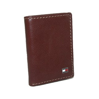 Tommy Hilfiger Men's Leather Logan Trifold Wallet - One Size