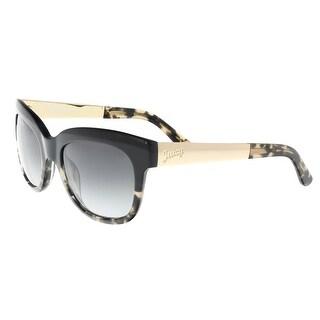 Juicy Couture - Juicy 571/S 0JYY Black Tortoise Cateye Sunglasses - 52-20-135