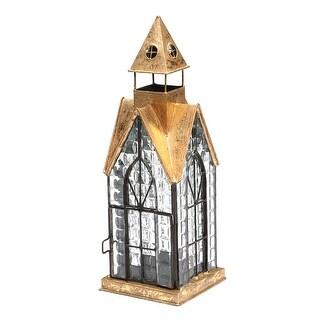 House Architectural Candle Lantern - Hampton House Tealight Holder