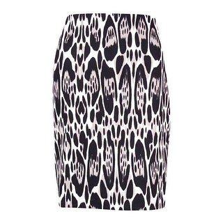 INC International Concepts Women's Animal Print Skirt
