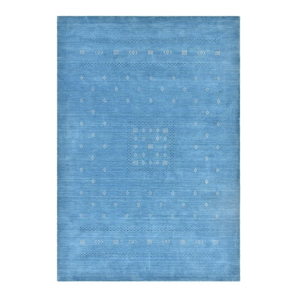 Simi Transitional Gabbeh Hand Loomed Area Rug. Opens flyout.