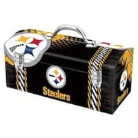 Sainty International 79-324 Pittsburgh Steelers Art Deco Tool Box