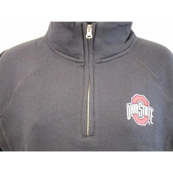 The Ohio State Buckeyes Womens 1//4 Zip Pullover