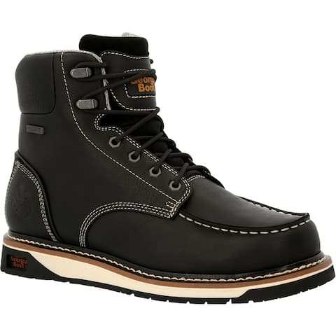 #GB00475, Georgia Boot AMP LT Wedge Waterproof Moc-Toe Work Boot
