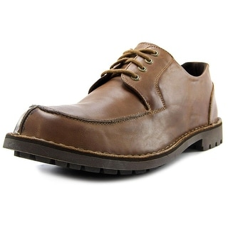 Sebago Metcalf Algonquin Men Moc Toe Leather Tan Oxford