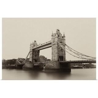 """Tower Bridge"" Poster Print"