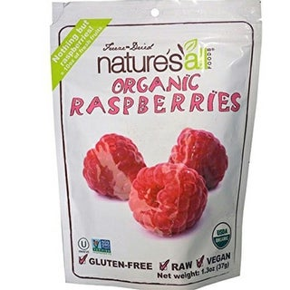 Nature's All Foods - Dried Raspberries ( 12 - 1.3 oz bags)