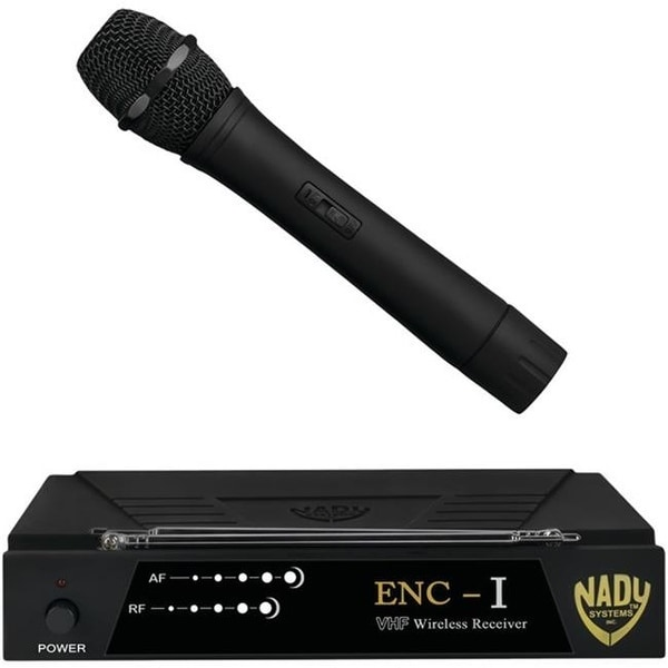Nady ENC-I Professional Single-Channel VHF Wireless System Black