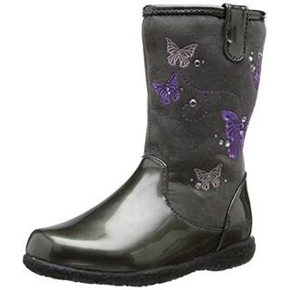 Nina Girls Georgina Ankle Boots Patent