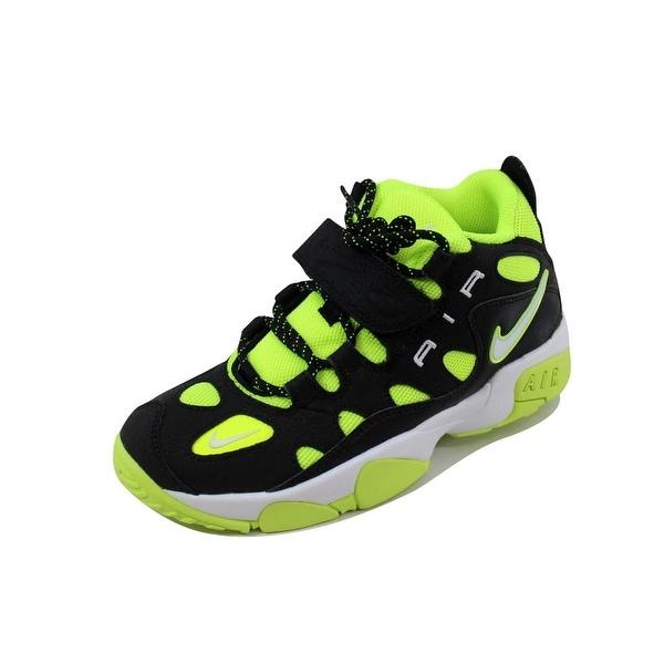 Shop Nike Grade-School Air Turf Raider Black White-Volt 599812-007 ... 431f28f5f