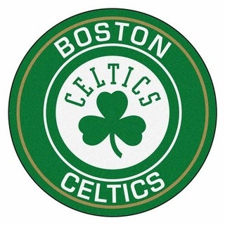 Fan Mats FAN-18827 Boston Celtics NBA Roundel Mat