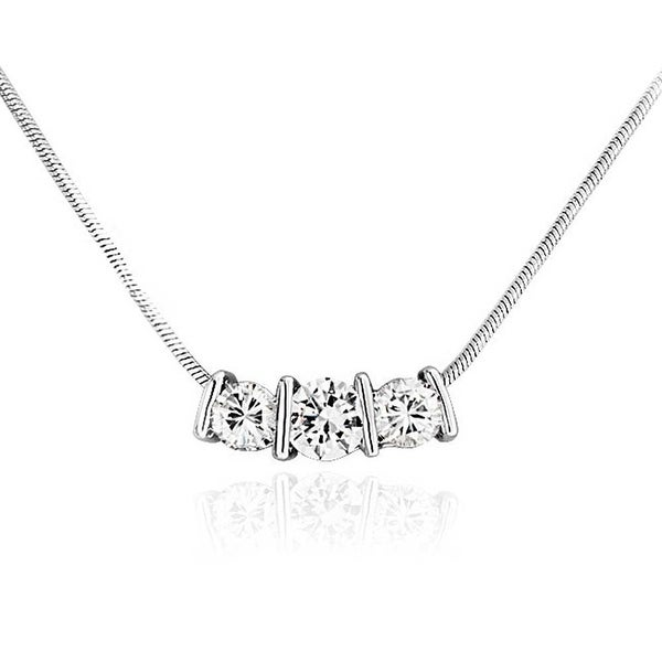 Bling jewelry bar set cz past present future slider pendant rhodium bling jewelry bar set cz past present future slider pendant rhodium plated necklace 165 inches aloadofball Gallery