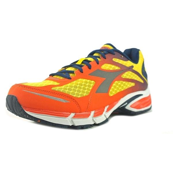 Diadora M.Shindano Plus 2 Men Dandelion/Silver Running Shoes