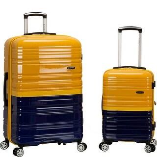 Rockland Melbourne 2-Piece Spinner Luggage Set