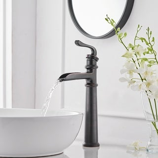Link to Waterfall Single Hole Bathroom Faucet in Oil Rubbed Bronze Similar Items in Faucets