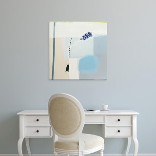 Easy Art Prints Aliza Cohen's 'Blues' Premium Canvas Art
