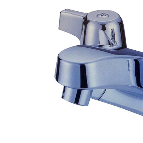 Two Handle Lavatory Faucet in Chrome Finish