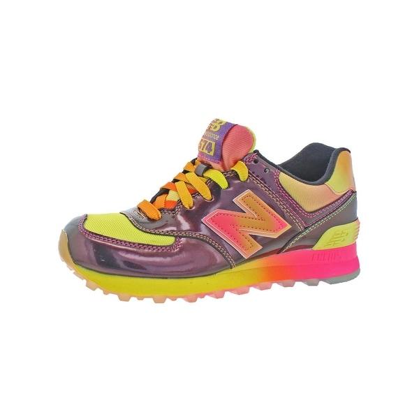 New Balance Womens 574 Classic Running Shoes Metallic ENCAP - 6 medium (b,m)